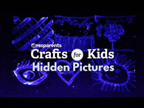 Hidden Pictures | PBS Parents | Crafts for Kids