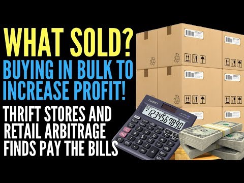 Buying in Bulk to Sell on Amazon FBA to Make Money