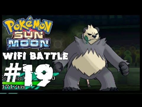 Pokemon Sun & Moon Wifi Battle #19: Pangoro Can Learn Bullet Punch Against Fairy Types w/ RepelGames