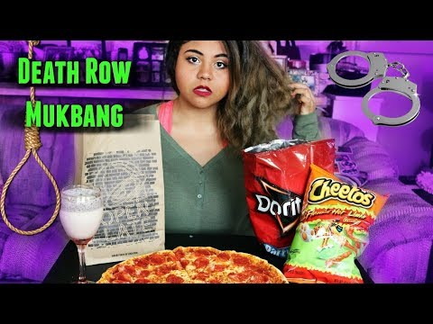 Death Row Mukbang | What My Last Meal Would Be