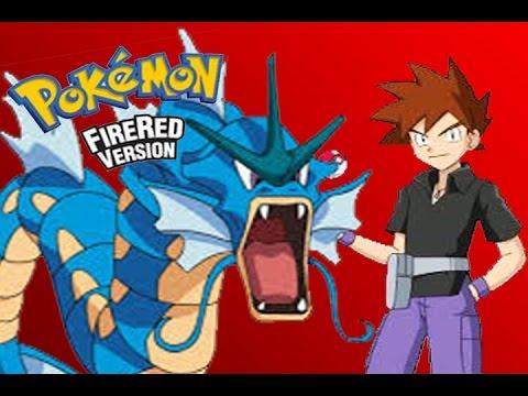 POKEMON FIRE RED #10 - GYARADOS vs GARY