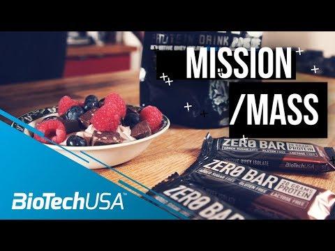 Protein Dessert  - Mission Mass with Justin St. Paul - BioTechUSA