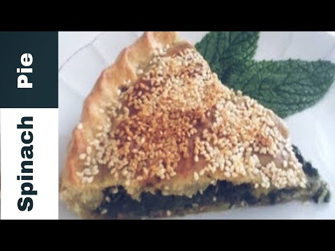 Spinach Pie Super Simple By Super Simple Kitchen