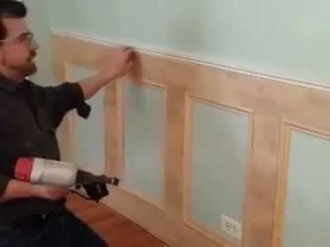 Best DIY Recessed Wainscoting Installation Part 2 of 3
