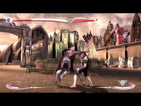 INJUSTICE  GODS AMONG US Superman VS Evil Superman