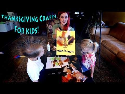 Thanksgiving Crafts For Kids!