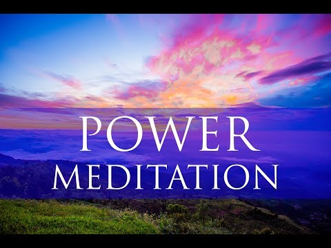 Morning Power Meditation For Grounding: Healing & Raising Positive Vibrations - Theta Binaural Beats