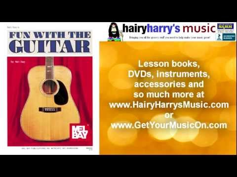 Learn how to play guitar, bass, banjo, with books and DVDs by Mel Bay, SMP, Ernie Ball and more.