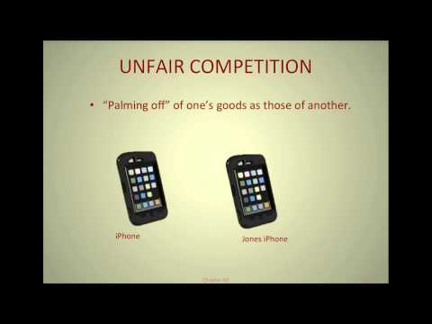 U.S. Intellectual Property Law-Unfair Competition