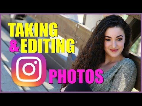 How I Take & Edit My Instagram Photos