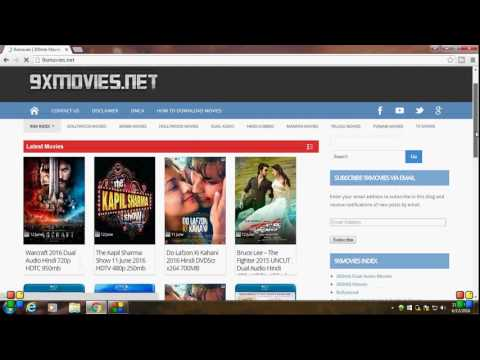How to Download Movies for FREE on your Laptop or Desktop Computer HD IN [HINDI]