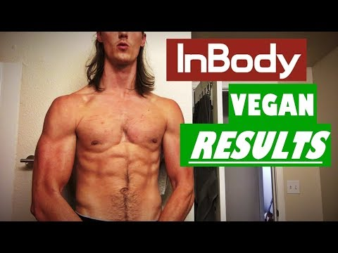 Body Composition Results From 6 Months Vegan (InBody)
