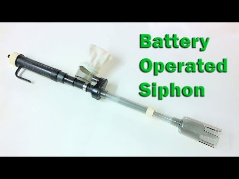 Mr. Cleaner Battery Operated Gravel Siphon Review