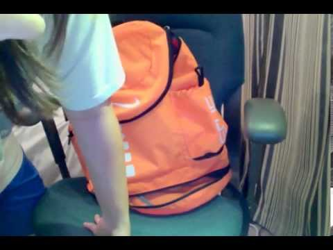52d826774e Nike Hoops Elite Backpack (Orange) Cantonese review with English subtitle