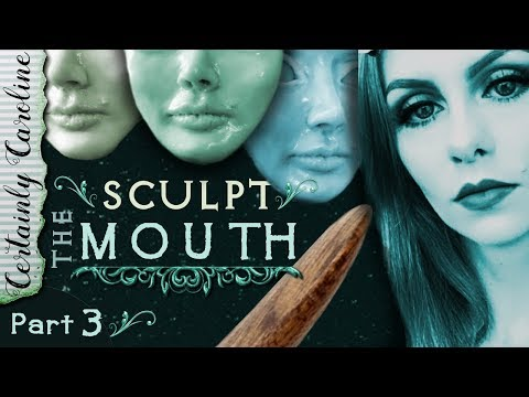 How to Sculpt the Mouth, Doll Portrait Sculpting P3: How to Sculpt with Polymer Clay Focus on Lips