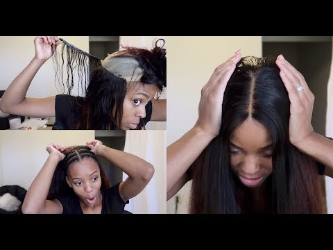 30 Minute REMOVABLE Quickweave! EASIEST WIG EVER | Beauty Forever Hair