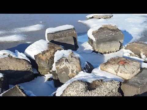 The Saltwater Is Frozen!