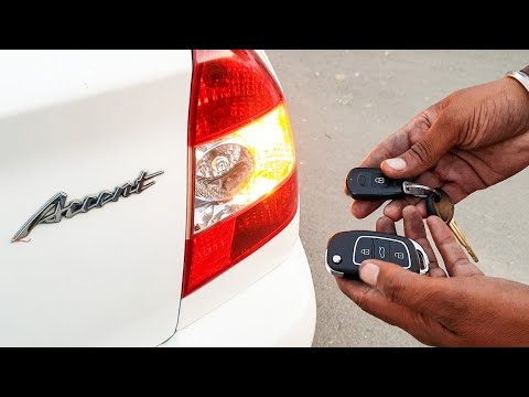 Hyundai Accent 2 Button Remote Matching