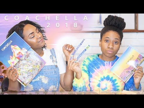 COACHELLA UNBOXING 2018 | Our First Time!