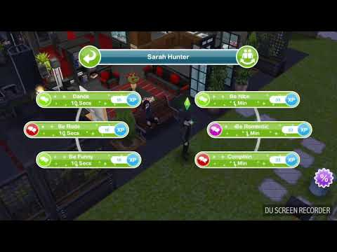 The Sims Freeplay -  Make 2 Sims Chest Bump -  Weekly Task