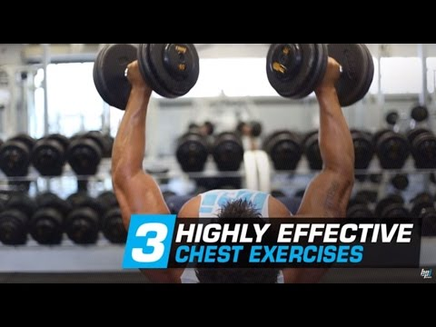 3 Mass Building Chest Exercises with Tyrone Bell - Best Training Tips - BPI Sports