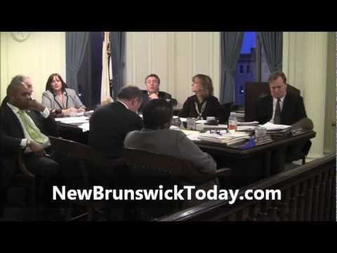New Brunswick City Council - Hearing on D'Gala Liquor License