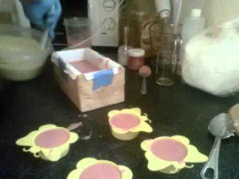 Soap Making - Making Orange Dreamsicle Soap