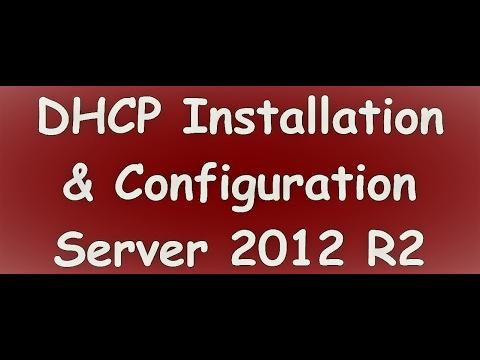 Setup  DHCP Server Role in Windows Server 2012
