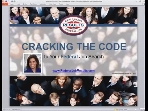 Cracking the Code  to Your Federal Job Search