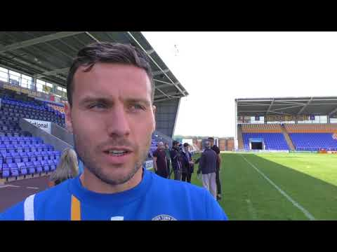 Mat Sadler:We need to show how good Shrewsbury  are
