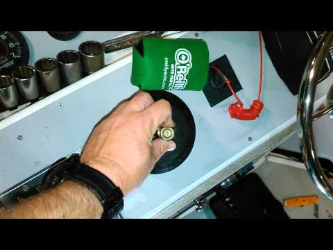 Steering Cable and helm removal part 3