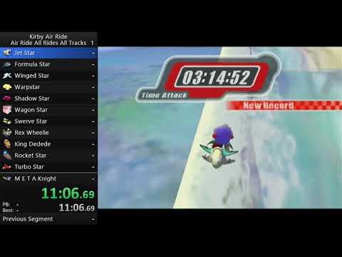 Kirby Air Ride KARARARAT Speedrun in 7:54:55 [Race w/ Cool_Nick__]