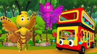 तितली उड़ी - Titli Udi Bus pe Chadi - Hindi rhymes   Hindi Nursery Rhymes for Children   Jo Jo Kids