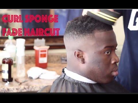 Curl Sponge Fade Haircut | Step By Step How to twist Sponge haircut