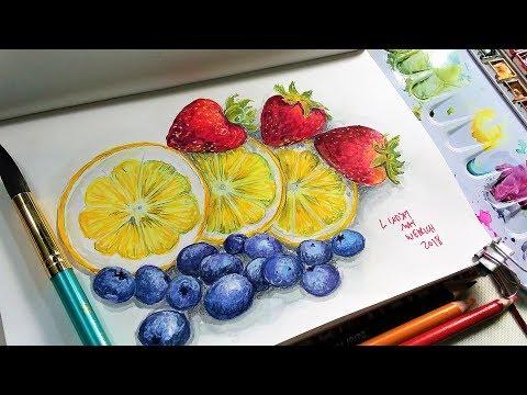 Fun Fruits Sketchbook Sunday!
