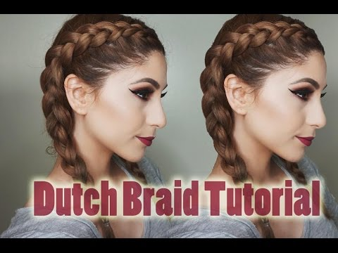 How to Dutch Braid Your Own Hair | Step By Step For Beginners ❥