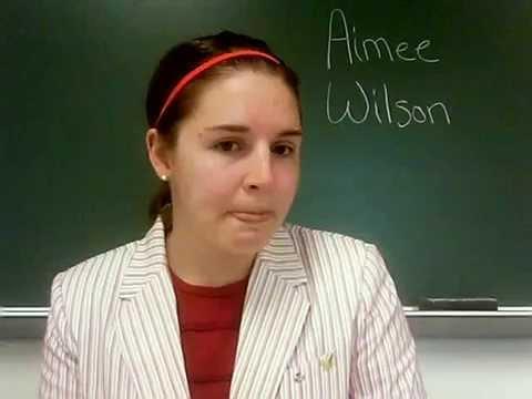 Video Resume: Secondary English Student Teaching