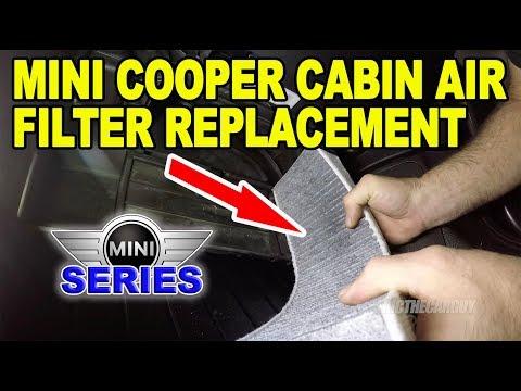 Mini Cooper Cabin Air Filter Replacement