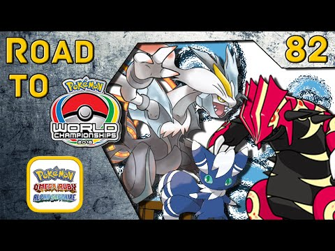 Road to VGC Worlds 2016 #082 - White Kyurem/Primal Groudon/Meowstic [Pokemon ORAS WiFi Battle]