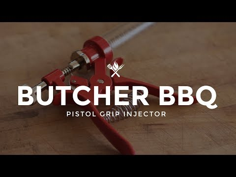 Butcher BBQ Pistol Grip Injector | Product Roundup by All Things Barbecue
