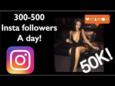 HOW I GOT 300-500 INSTAGRAM FOLLOWERS A DAY!! | ANNA PAUL