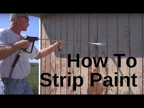 How to Strip Paint with a Pressure Washer Mi-T-M (2018)