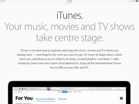 How to Update to iTunes 12.7 for Mac , MacBook, iMac, MacBook Pro , MacBook Air