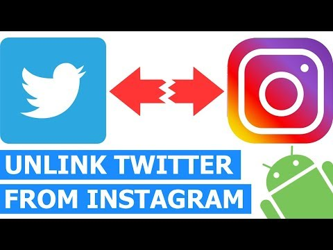 How to Unlink Your Twitter Account from Instagram on an Android phone
