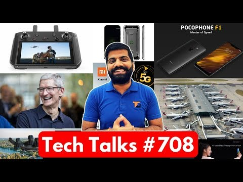 Tech Talks #708 - Poco F1 Update, Xiaomi Black Shark, Qualcomm 5G Devices, Redmi Y2, Galaxy M