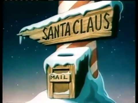 Santa's Surprise (1947) - Christmas cartoon (Classic Funny Santa Claus Cartoon in HD!)