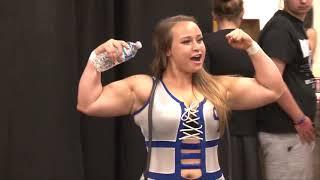 Kacee Carlisle vs Jordynne Grace with Maria Manic as referee
