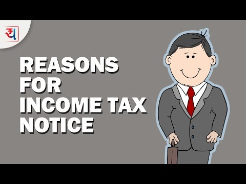 9 Common Reasons for getting Income Tax Notice | How to avoid a Tax Notice? | Yadnya Investment