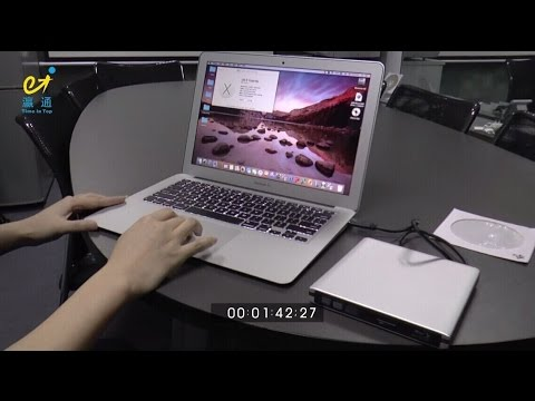 How to burn blu ray disc on MacBook Air (video is use DVD disc for test, BD Disc is same burn.)