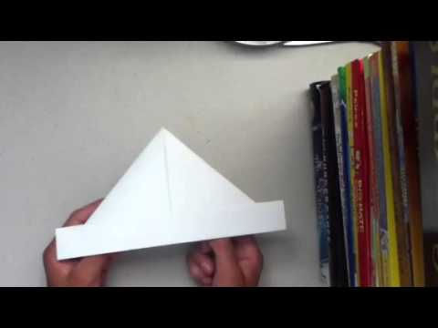 Origami hat-boat (easy)